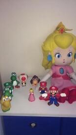 Super mario toys/plush
