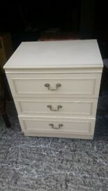 CREAM DRAWERS