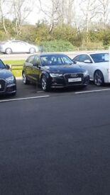 Reduced Audi 64 plate black pearl sportback