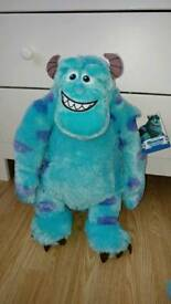 Large monsters inc sully soft toy