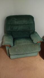Well loved arm chair free to collector
