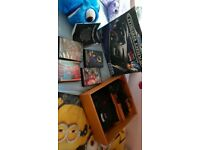 Sega mega drive and 4 classic games