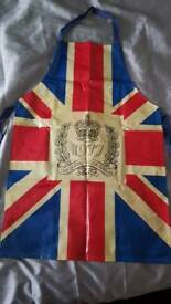 Queen 1977 SILVER Jubilee Apron