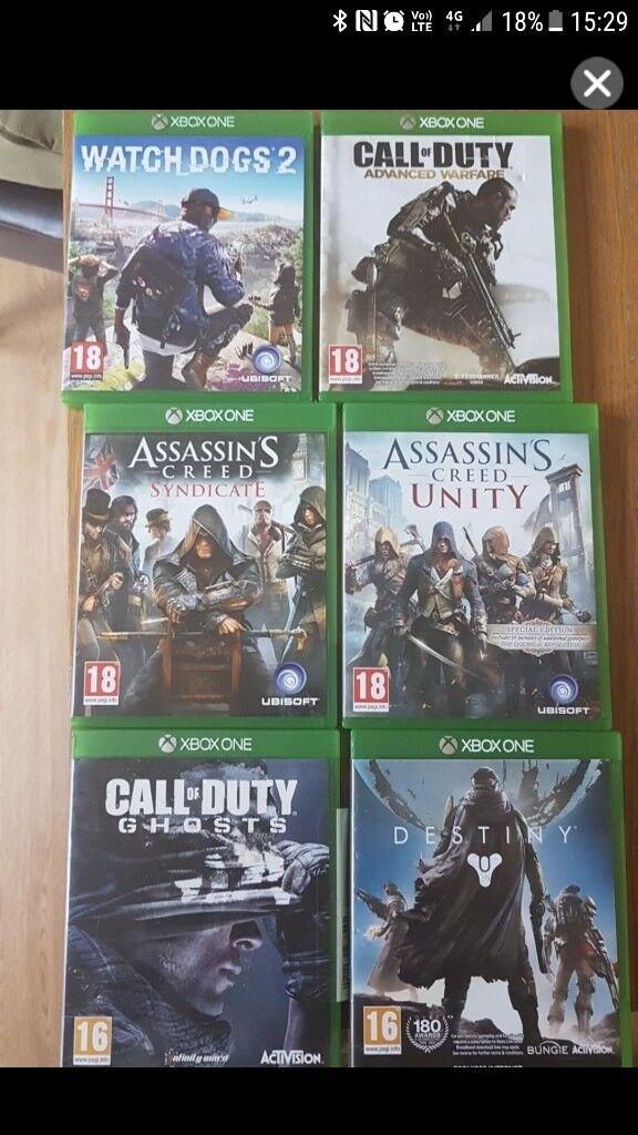 xbox one games bundles
