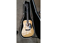 Sigma 12 string guitar with case. Swap or sell.