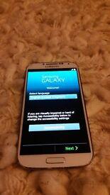 Samsung Galaxy S4 SGH-1337M White 16GB (locked to a uk network)