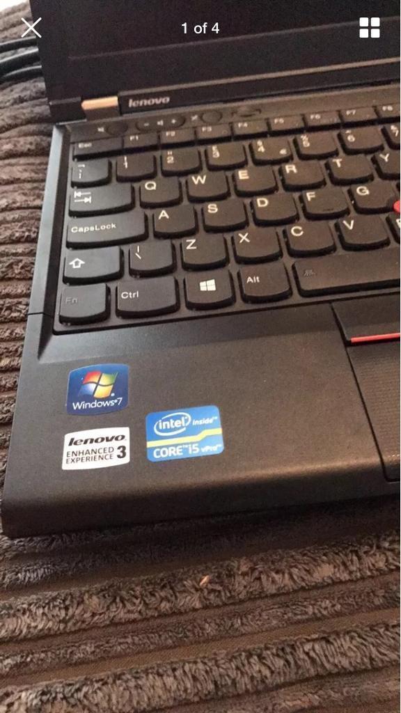 Lenovo Thinkpad X230S - Intel i5 -4GB - 500GB WIFI DVD