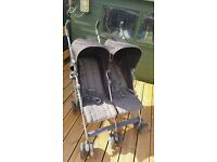 Double pushchair. mamas and papas (kato 2 twin)