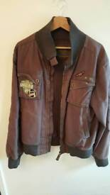 Tim Wolfe aviator jacket