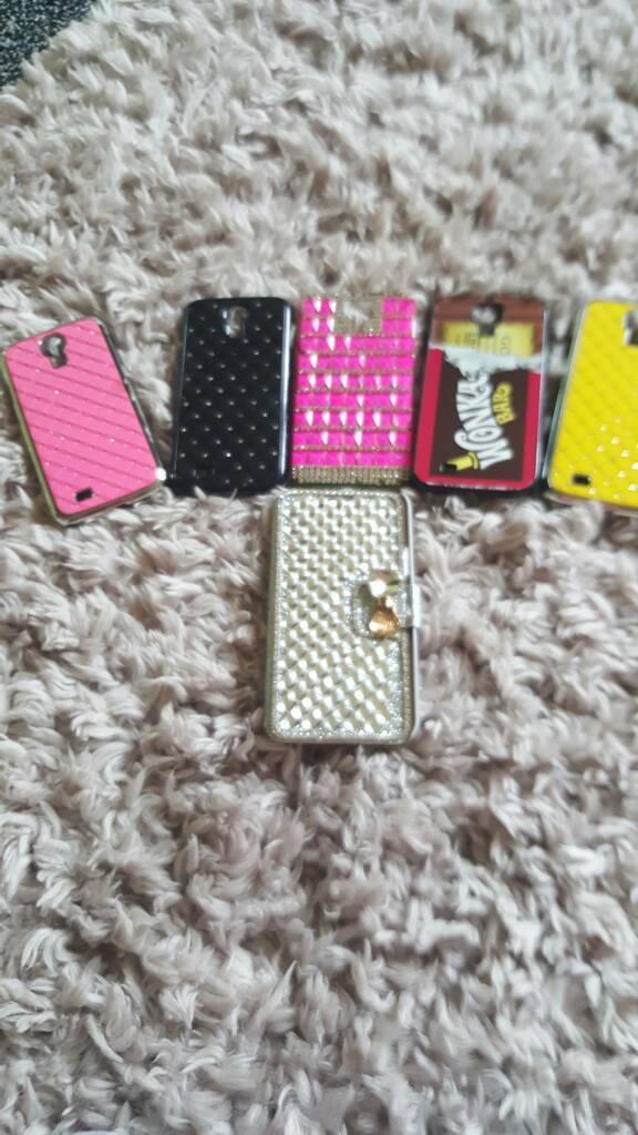 Galaxy s5 phone covers 6 of themin Wishaw, North LanarkshireGumtree - S6 covers all good condition