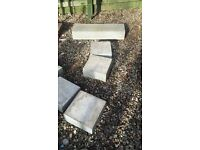 Granite blocks. great for garden feature.