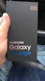 Samsung s7 edge new