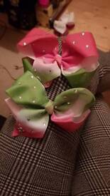 Set of 2 jojo bows