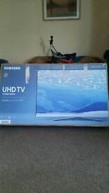 Samsung smart tv (last one) 4k ku6400 49 new stock