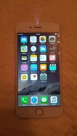 Apple iPhone 6 Silver 16 GB locked to Vodafone good condition
