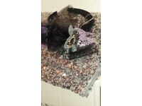 Girls sequined accessories