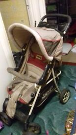 Jeep pushchair