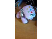 Small Purple Dog Speaker