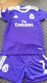 Real Madrid Adidas Football Kit