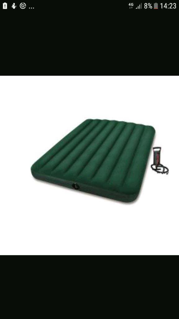 Double Air Mat with pump