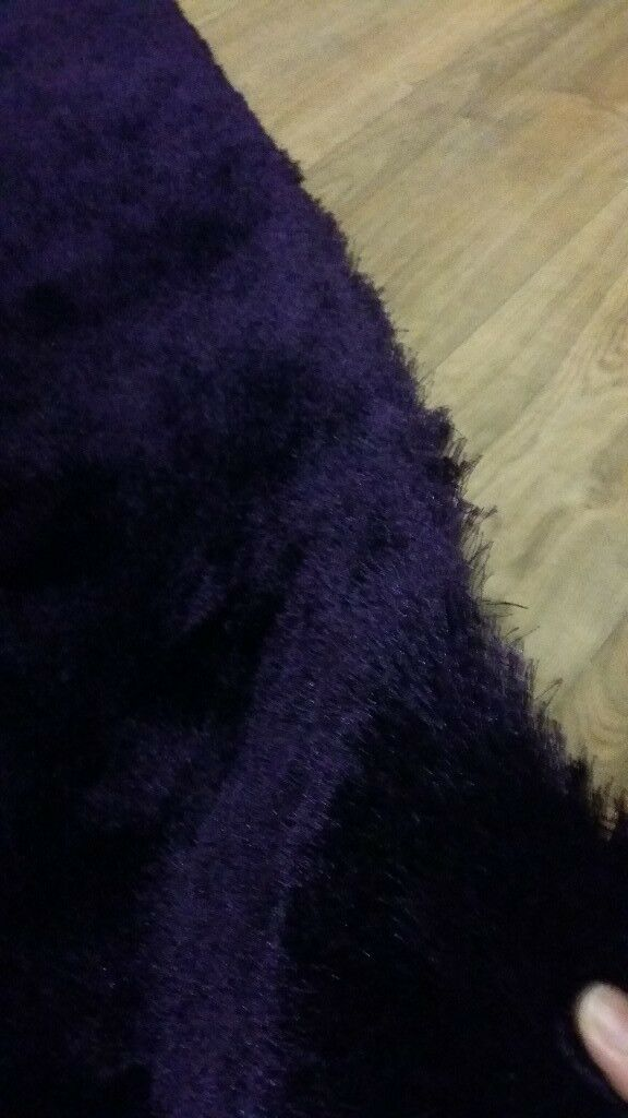 Furr Purple rug FREE DELIVERY
