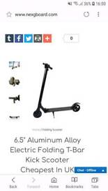 Nexgboard aluminium electric folding scooter
