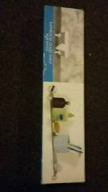 Reduced to go! £3..... Glass Bathroom Shelf