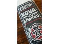 White belt BJJ brazilian jiu jitsu tatami belt