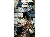 Girls clothes bundle size 2-3years and 3-4years (used and new)