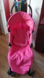Maclaren Triumph in pink! (Umbrella fold)