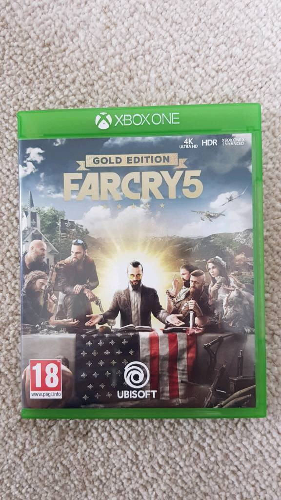XBOX One / One X Far Cry 5 Gold edition game | in Chelmsford, Essex |  Gumtree