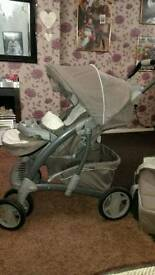 graco pushchair and carry cot