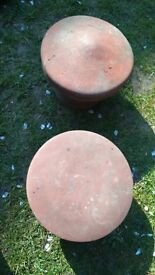 terracotta chimney cowls for use or decorative display