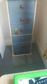 Wardrobe & 2 sets of drawers