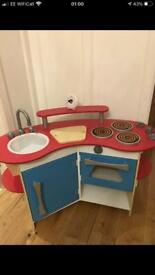 Melissa and Doug toy wooden kitchen