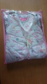 Joules baby sleeping bag 2.5tog 0-6months