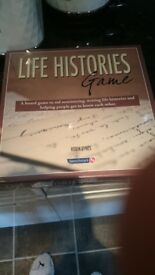 life histories new game not used