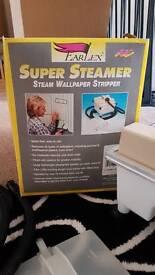 °•☆ Earlex SUPER STEAMER w/ accessories wallpaper stripper ☆•°