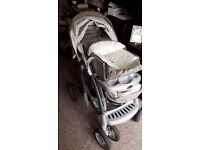 Graco pram and carry cot