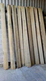 Newly Sawn Oak Boards in Central Scotland