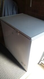 CHEST FREEZER -4YRS OLD. Good Condition- apart from a knock on top of lid. £50 .