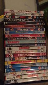 Comedy themed DVDs