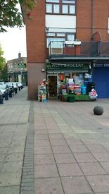 shop lease for sale. 5 yearly lease by the Council. £8000 a year rent £2500 rates.