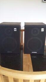 Retro wharfdale speakers