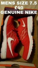 Mens genuine Nike size 7.5