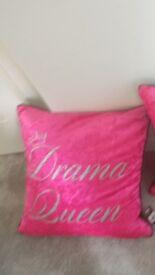 Drama Queen cushion