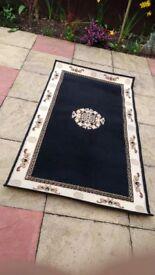 small rug in very good condition collection only