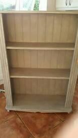 Large shabby chic bookcase