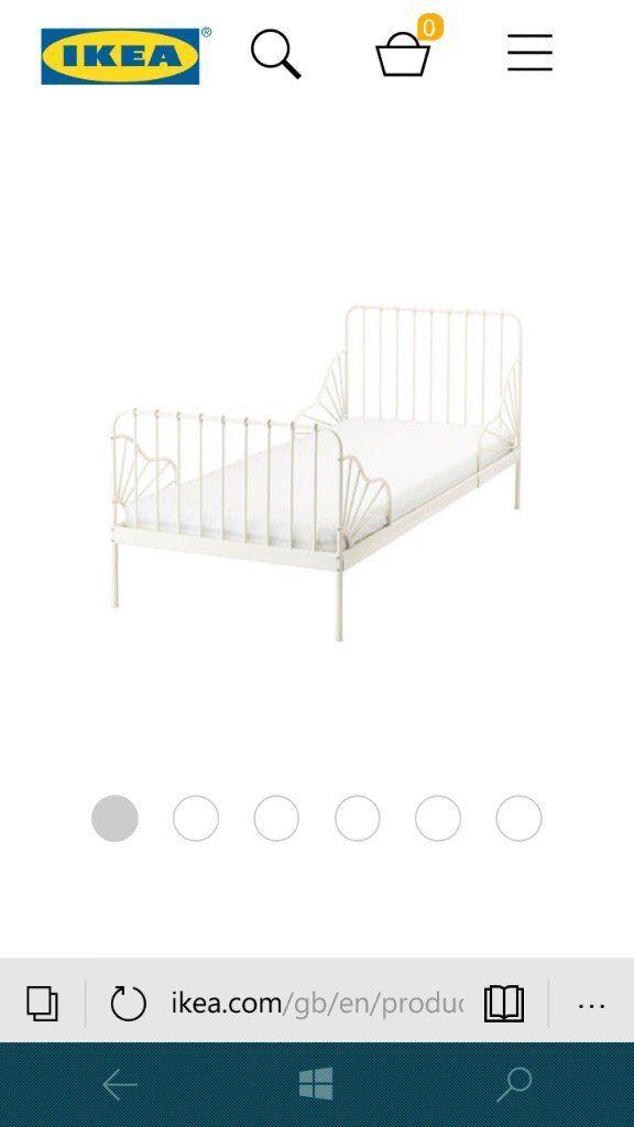 Ikea extendable single bed