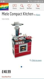Kids toy kitchen